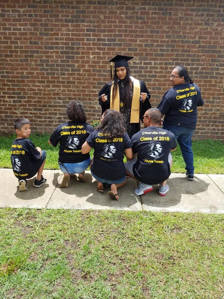 Aliysia's Graduation T-Shirt Photo