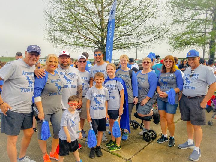 Team Titan For Autism Walk 2019 T-Shirt Photo
