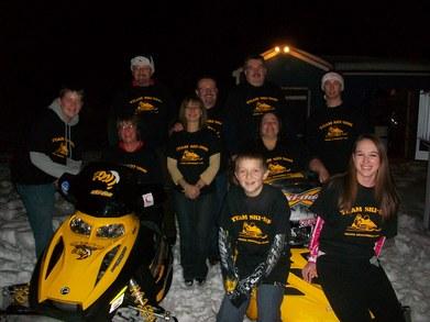 Gildea Snowmobile Club T-Shirt Photo