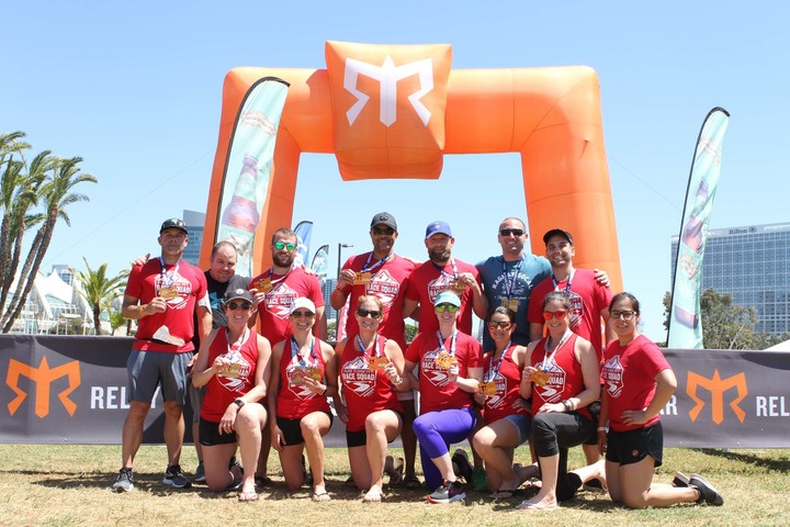 Pure Form Race Squad Rocked Ragnar So Cal! T-Shirt Photo