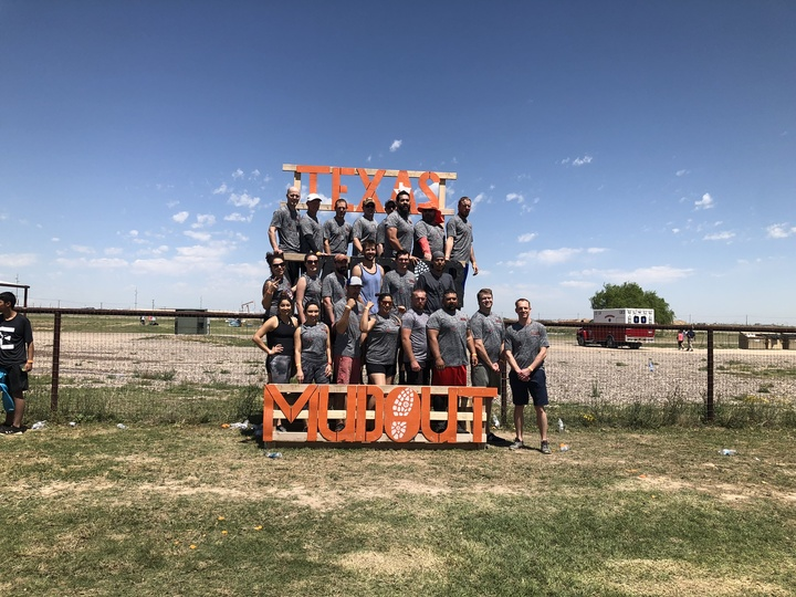 "2019 Texas Warrior Mudout Team ""The Claw"" T-Shirt Photo"