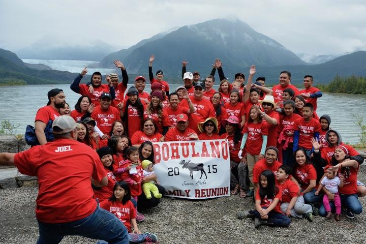 Bohulano Family Reunion T-Shirt Photo