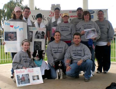 Coach Hink's All Stars In The 2009 Walk To Defeat Als T-Shirt Photo
