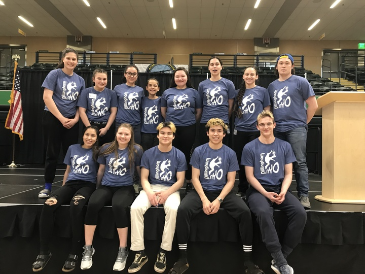Dillingham Native Youth Olympics Team T-Shirt Photo