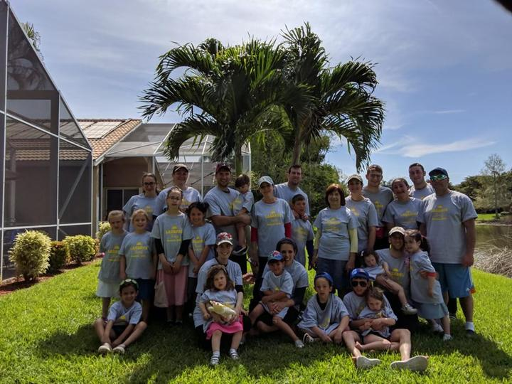 Lazarus Family Pesach 2019 T-Shirt Photo