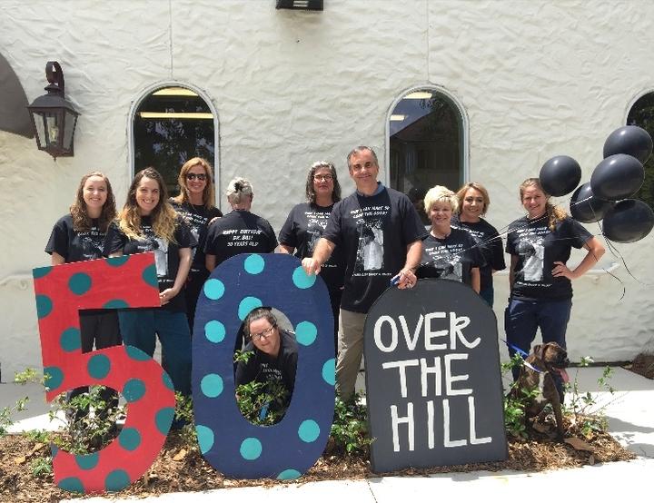 Dr Bills 50th! T-Shirt Photo