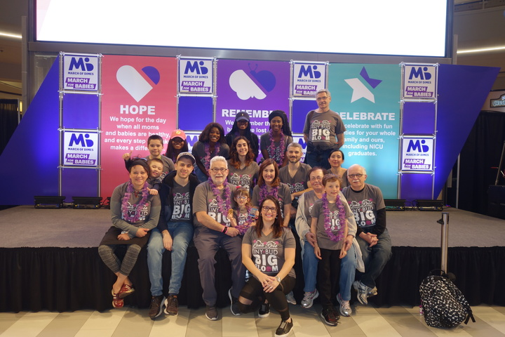 Team Lana Rose: Small Bud, Big Bloom (March Of Dimes At The Mall Of America) T-Shirt Photo