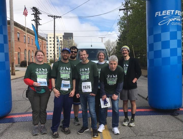 Team Cp Vigilante At The Finish! T-Shirt Photo