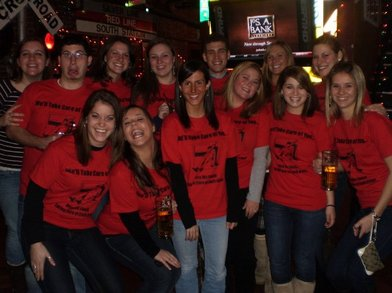Nursing Bar Crawl T-Shirt Photo