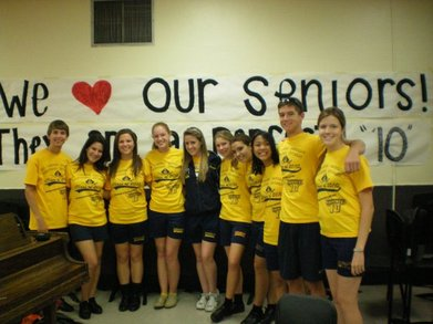 Marching Band Senior Class Of 2010! T-Shirt Photo