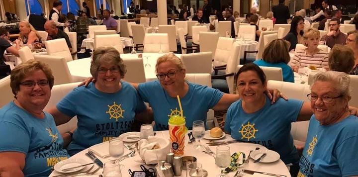 Stoltzfus Family Cruise T-Shirt Photo