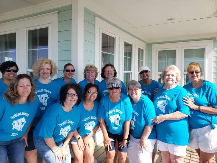 Twisted Sisters Beach Trip 2019 T-Shirt Photo