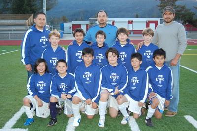 Under 10 Indoor Soccer Team (Napa County) T-Shirt Photo