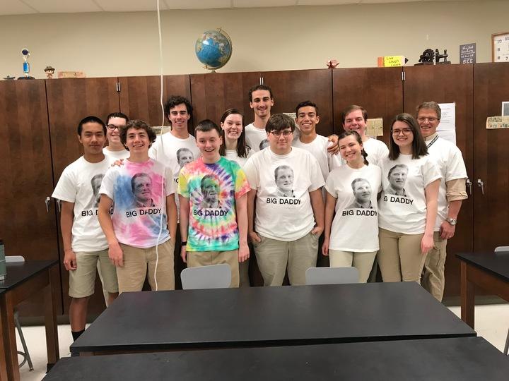 Saint Joe High Ap Physics — Big Daddy T-Shirt Photo