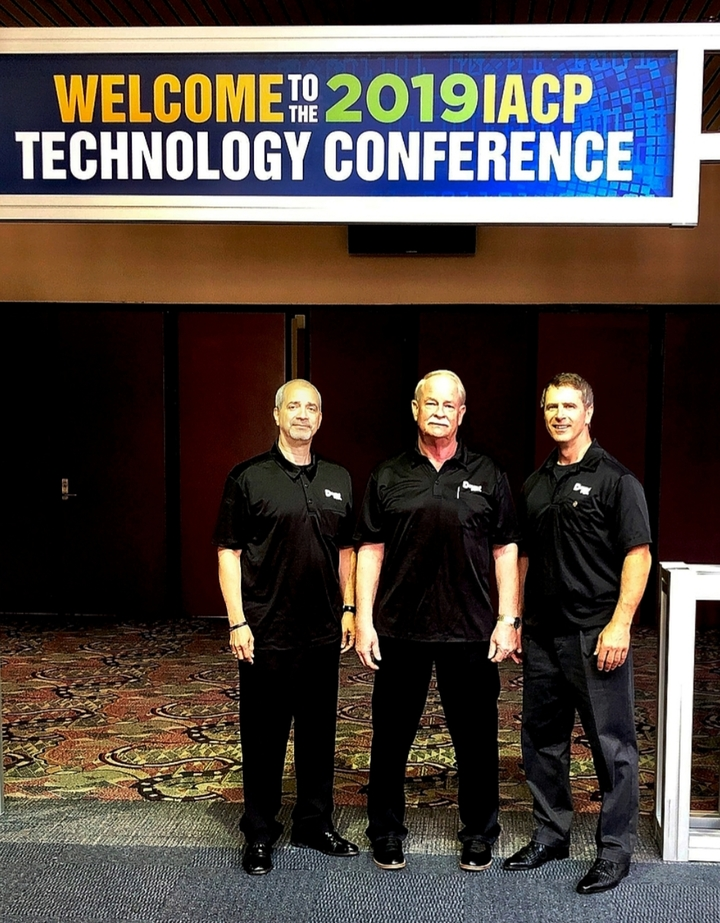 Proudly Wearing Custom Ink Gear At The 2019 Iacp Tech Conference T-Shirt Photo