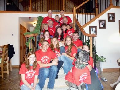 Montana Family Christmas 2009!!! T-Shirt Photo