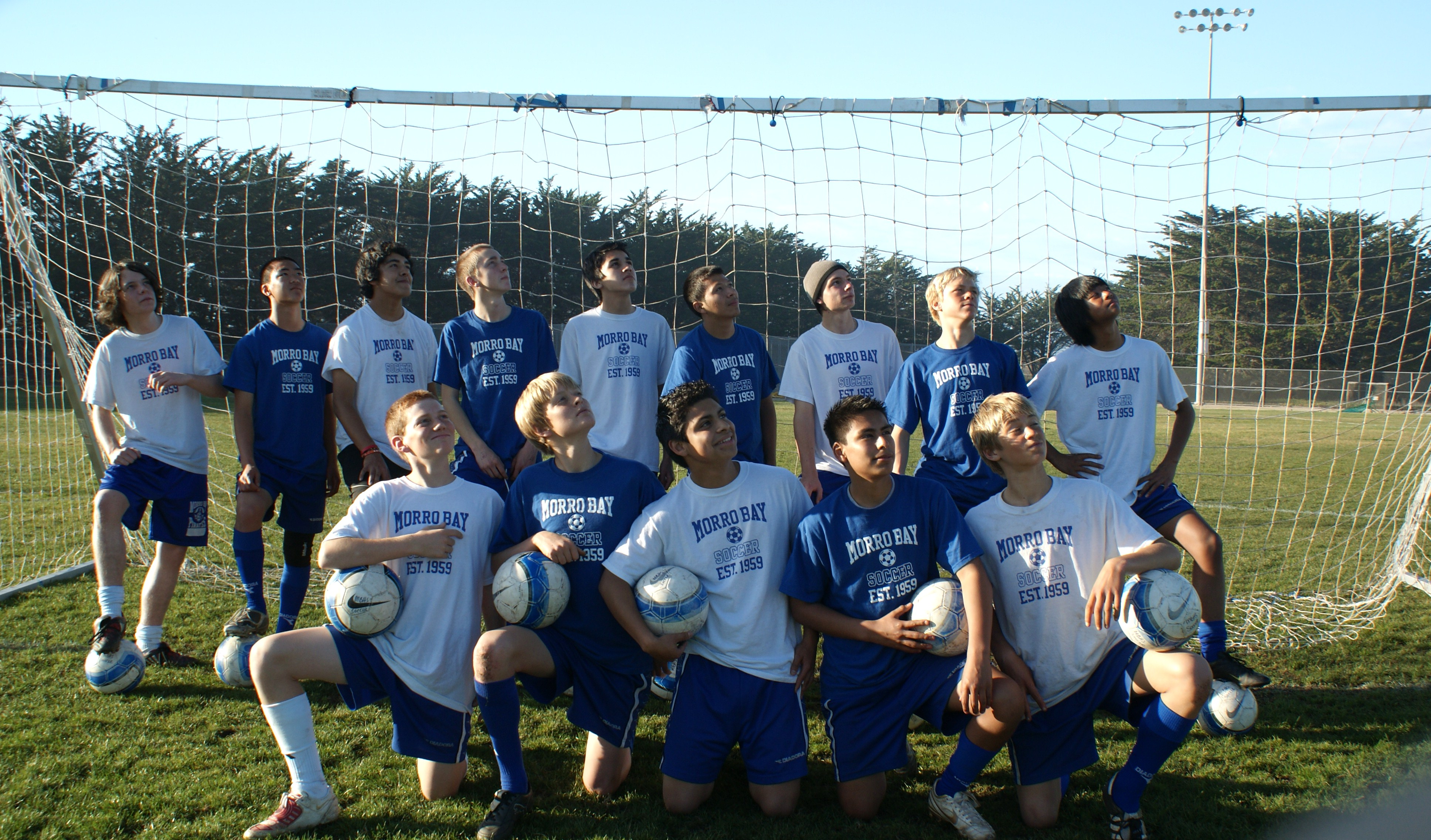 Custom t shirts for morro bay high boys soccer shirt for Boys soccer t shirts