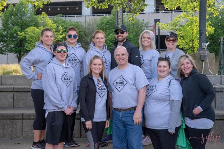Team Black Diamond  T-Shirt Photo