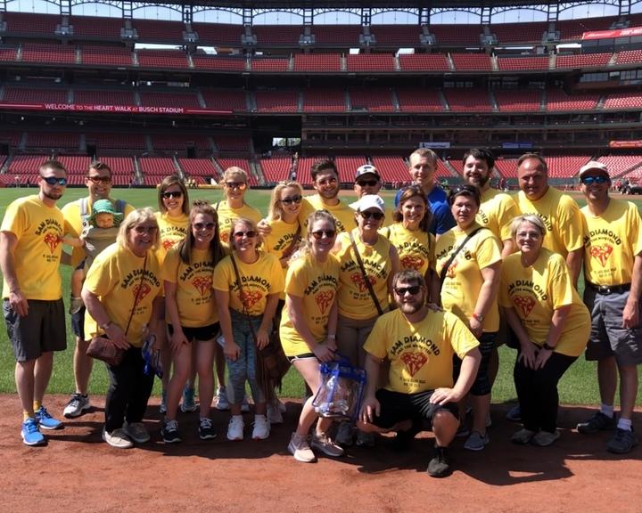 Heartwalk In Memory Of Sam Mejia T-Shirt Photo