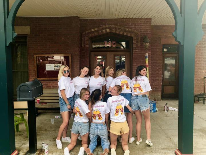 140 Senior Week T Shirts! T-Shirt Photo