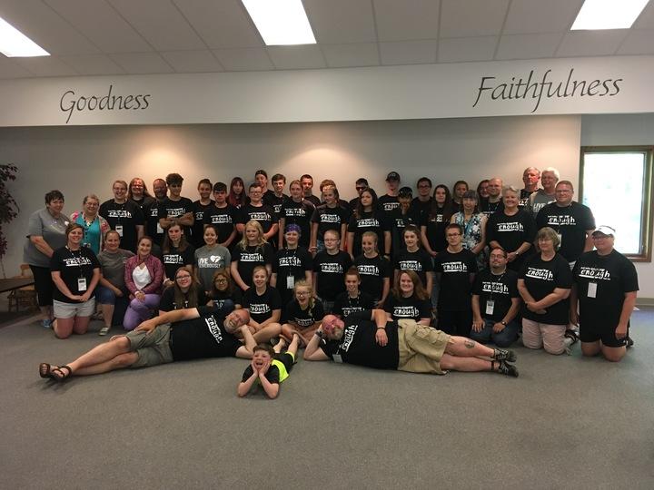 Unite Service Camp 2019 T-Shirt Photo