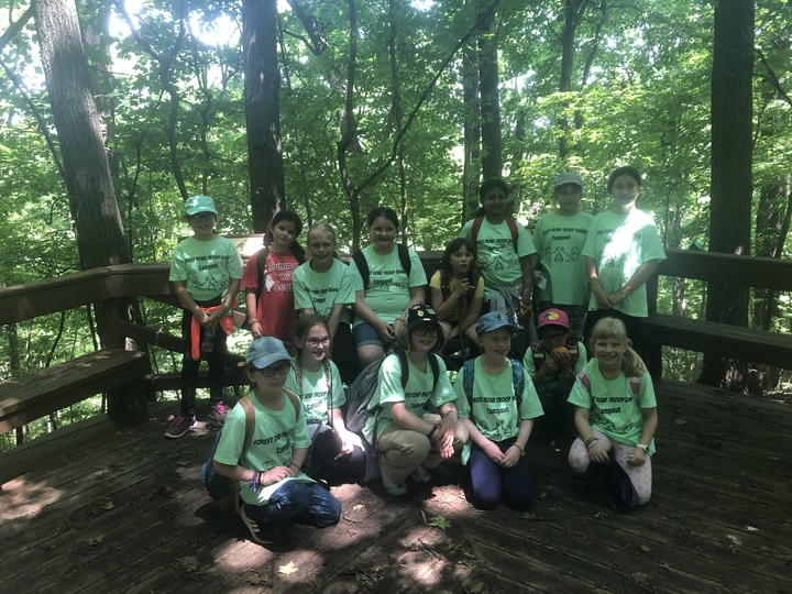 Girl Scout Troop #50416 T-Shirt Photo