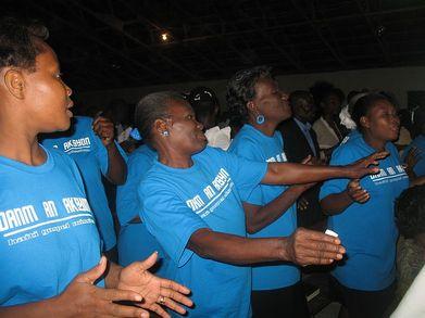 Danm An Aksyon In Haiti T-Shirt Photo