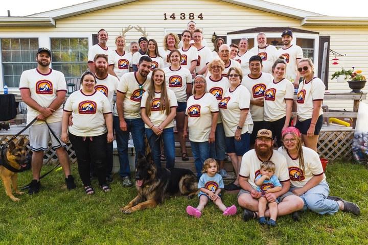 Family Reunion Summer Camp! T-Shirt Photo