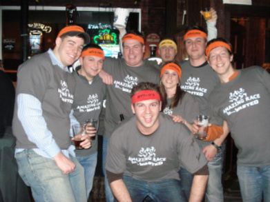 Amazing Race Pub Crawl T-Shirt Photo