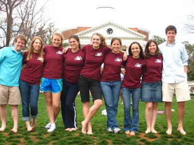 University Of Virginia Class Of 2010 Dinner Series Committee T-Shirt Photo