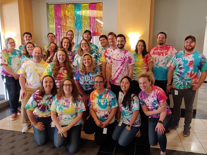 Intelex Pride Tie Dye T-Shirt Photo