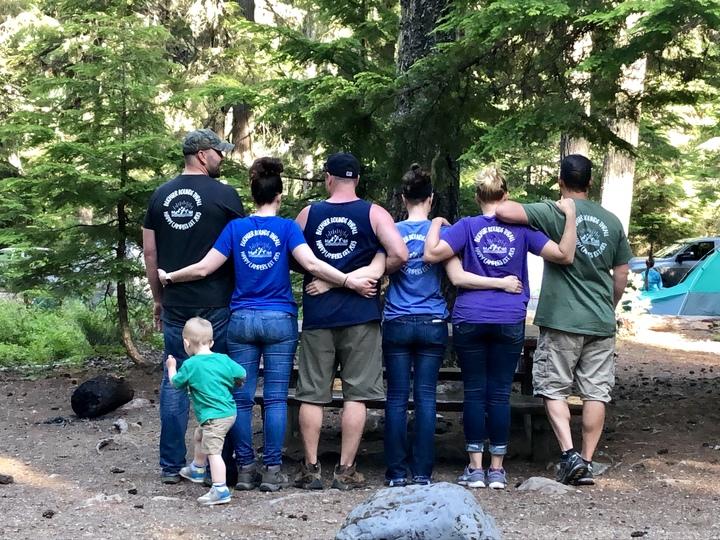 Camping Lake Kachess 2019 T-Shirt Photo