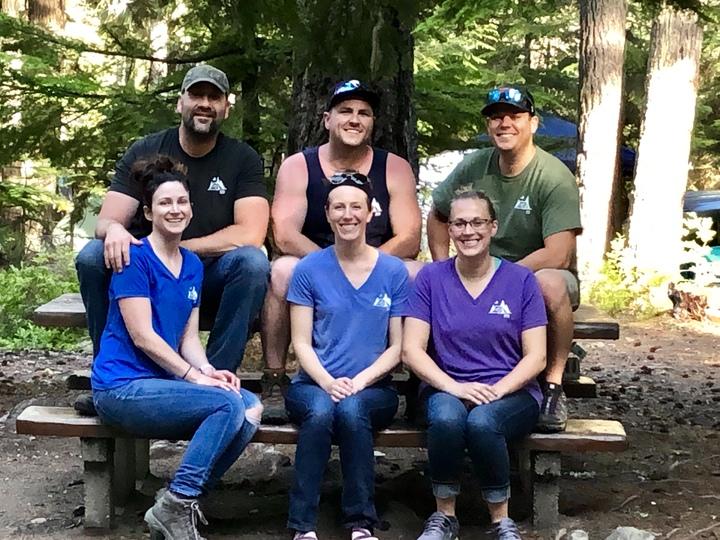 Group Lake Kachess 2019 T-Shirt Photo