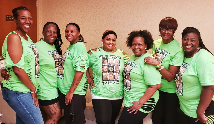 No Limit Xpress Line Dancers  T-Shirt Photo