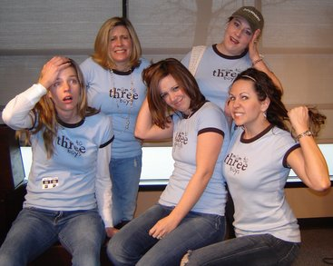 Moms To Three Boys T-Shirt Photo