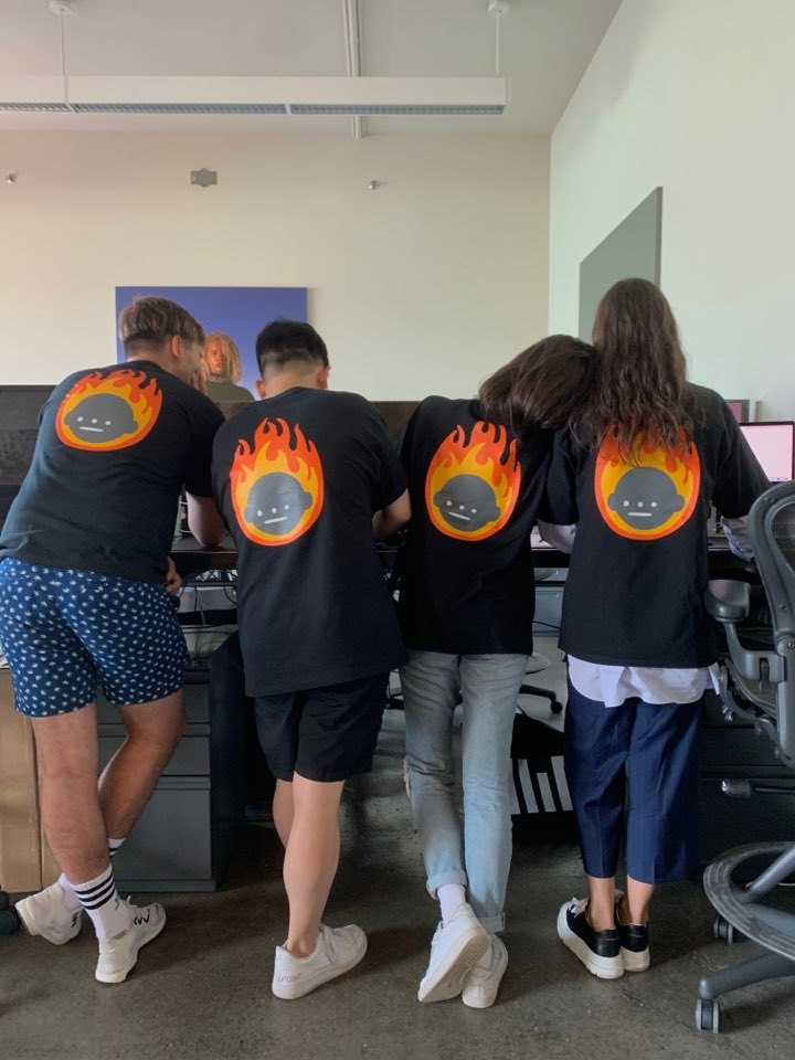 Squad On Fire T-Shirt Photo