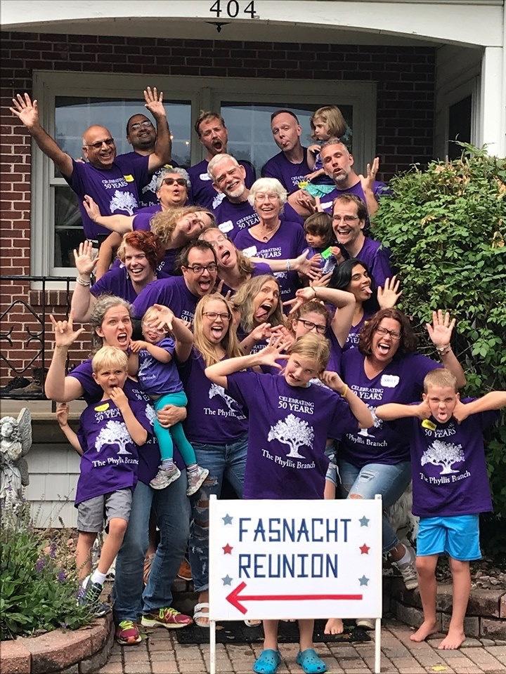 Fasnacht Family Reunion T-Shirt Photo