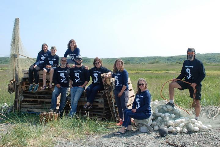 Set Net Fishing Crew 2019 T-Shirt Photo