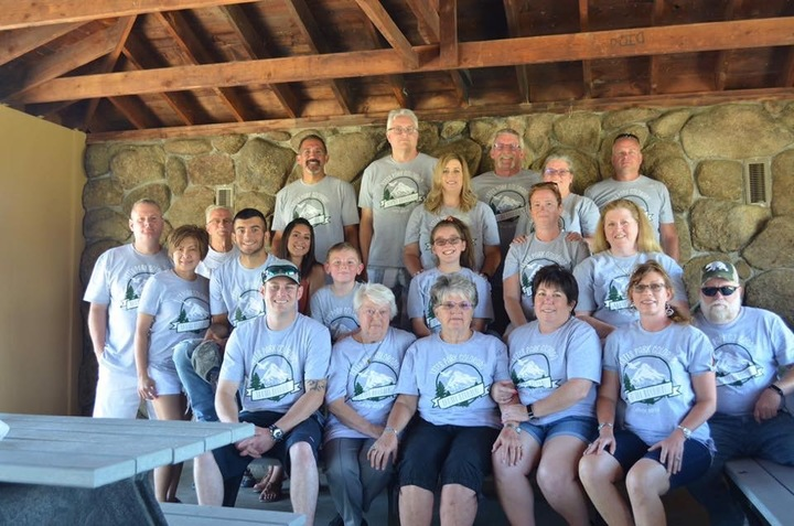 Iosbaker Cousins  Reunion   51 Years In The Making  T-Shirt Photo