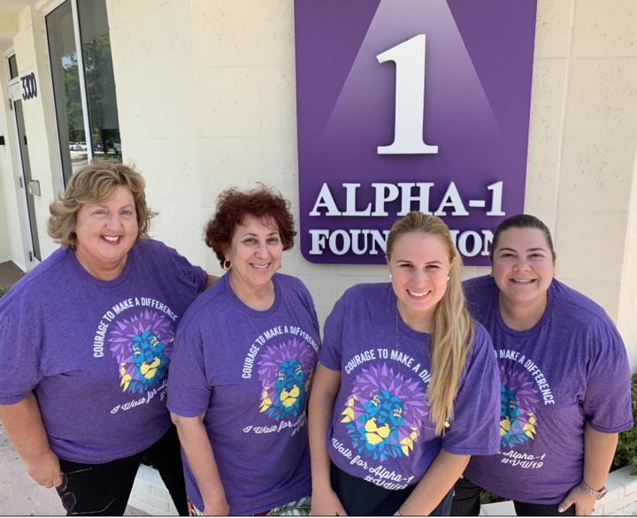 Alphie The Alpha 1 Foundation Lion T-Shirt Photo