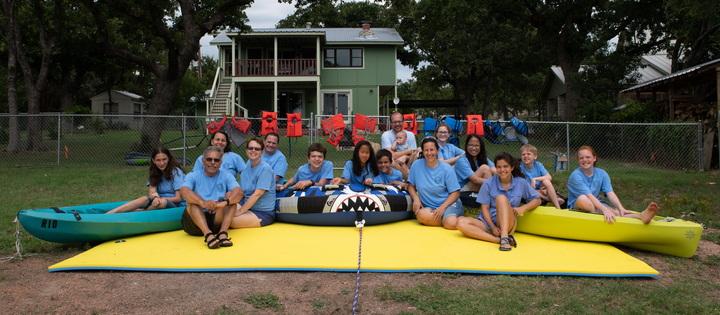 Camp Rio At The Lake T-Shirt Photo