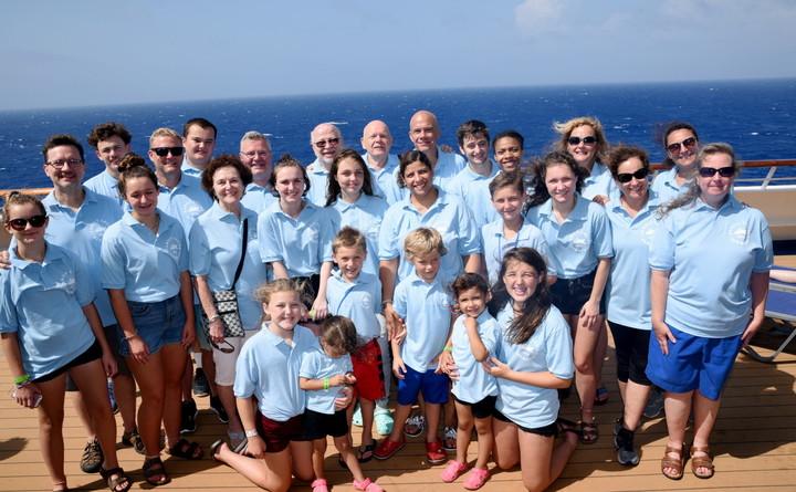 Family Cruise T-Shirt Photo