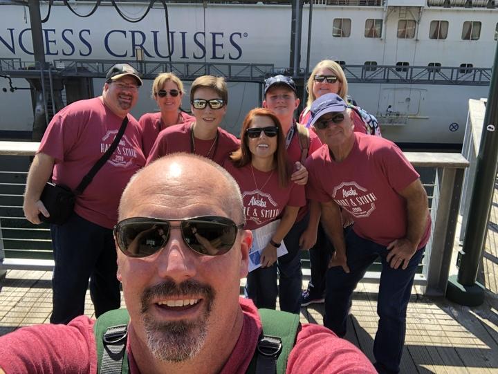 Alaska Family Cruise T-Shirt Photo