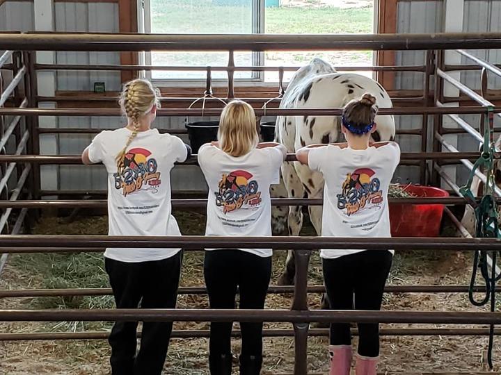 The 5280 Trick Riders Go To Kansas! T-Shirt Photo