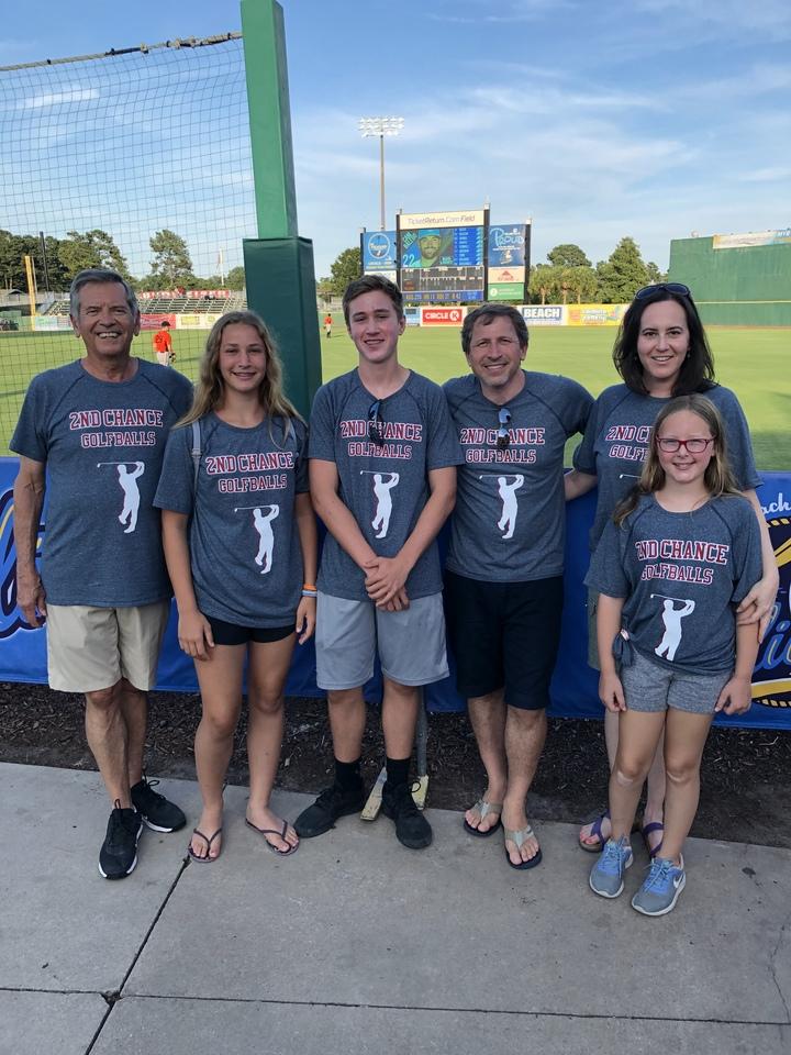 2nd Chance Golf Balls T-Shirt Photo