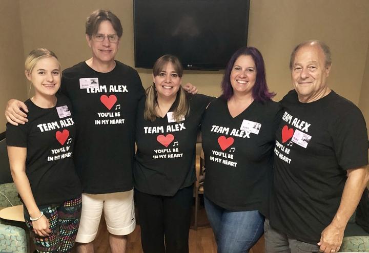 Team Alex T-Shirt Photo