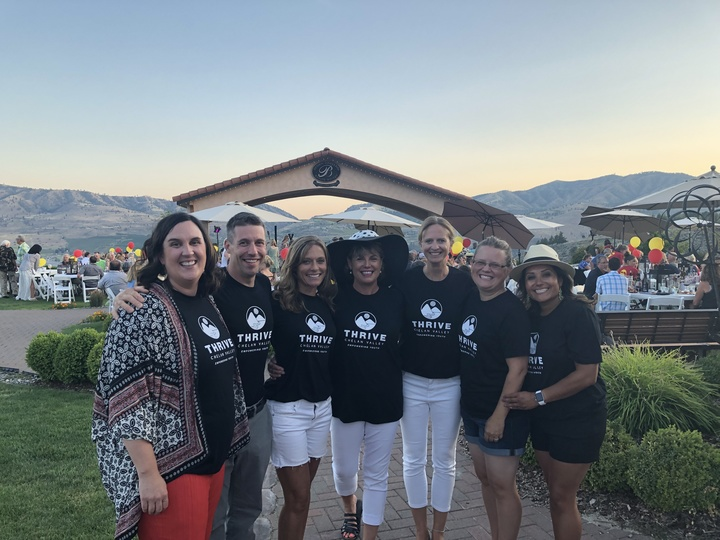 Thrive Chelan Valley Team T-Shirt Photo