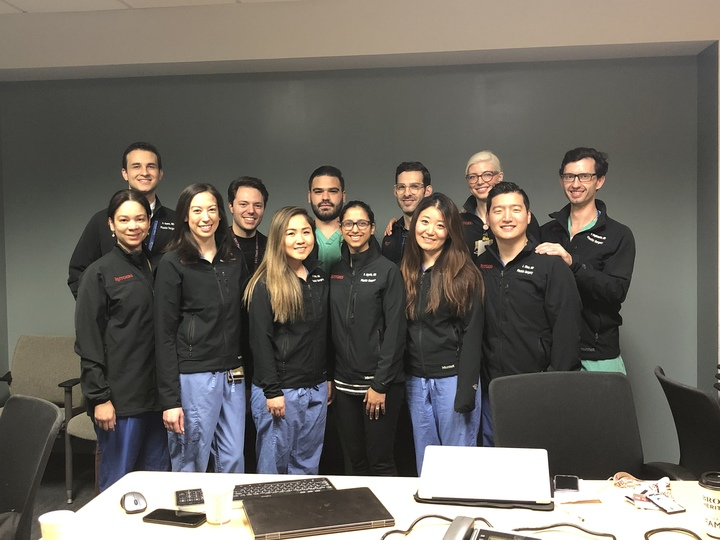 Rutgers Plastic Surgery Residents  T-Shirt Photo