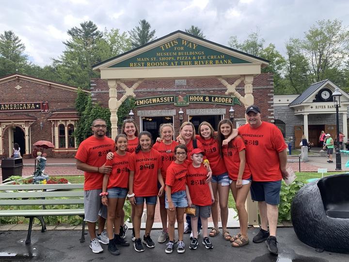 Popez Family Vacation T-Shirt Photo