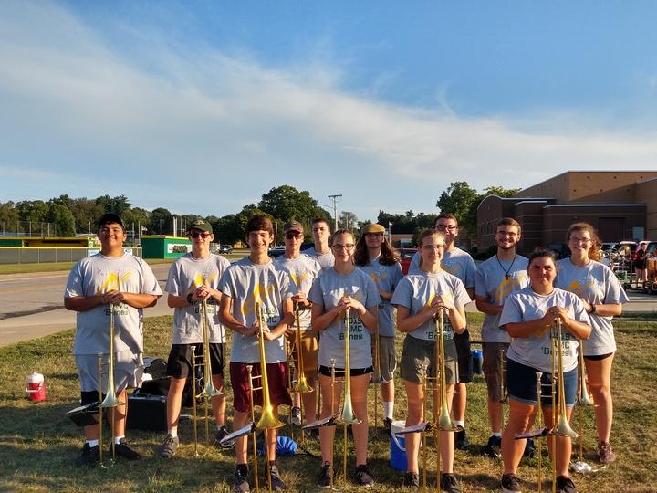 Trombones  T-Shirt Photo